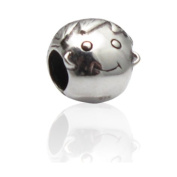 Charmies Boy in antique Silver/Compatible with Pandora, Amore Baci, Chamilia... & Silver 925