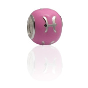 Charmies Fish Bead in Silver and Enamel. Compatible with Pandora, Amore Baci, Chamilia... & Silver 925