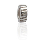 Charmies Stopper Compatible with Pandora, Amore Baci, Chamilia... & Silver 925