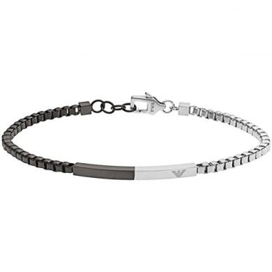 Mens Composition Two Tone Steel Bracelet Https Www Fishpond Co Nz Jewellery Emporio Armani Egs2124040
