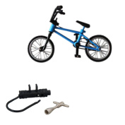 BMX Finger Bike Toy Collectable Blue