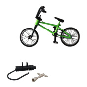 BMX Finger Bike Toy Collectable Green