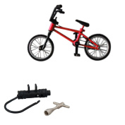 BMX Finger Bike Toy Collectable Red