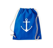 ShirtInStyle Gym Sack Gymnastics bag Cult bag Anchor Captain Port Style