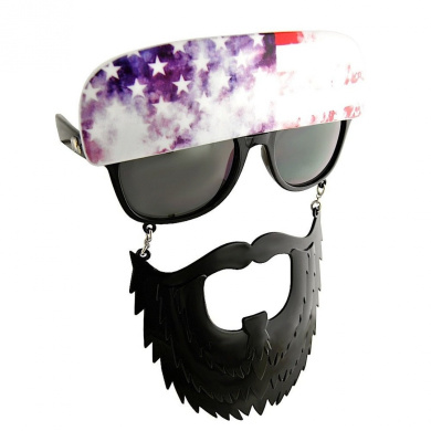 Party Costumes - Sun-Staches - American Trucker Toys Sunglasses SG1586