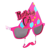 Party Costumes - Sun-Staches - Birthday Girl Toys Sunglasses SG1988