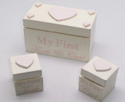 Baby Girl My First Tooth & Curl Box