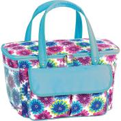 Picnic Plus Avanti Cooler Tote - Blue Blossom