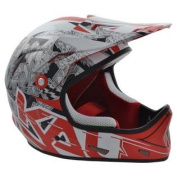 Kali Protectives Avatar X Helmet, Black/Red, Small