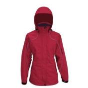 Viking Women's Creekside Tri-Zone Jacket, Red, Medium
