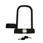 U-Lock Bike Lock Heavy Duty High Security with Mounting Bracket and 2 Keys