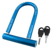 U Shaped Metal Plastic Motorbike Bicycle Lock with 2 Keys