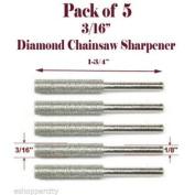 MTP 5 Pc 0.5cm Diamond Chainsaw Sharpener Burr Stone File Fits Craftsman For For For For For For For For Dremel 1/8 1453