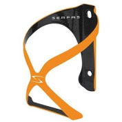Serfas Spyre Carbon Bicycle Water Bottle Cage, Orange