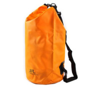 10L-Waterproof Dry Sack For Boating/Floating/Swimming with Strap,Orange