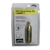 NEW Stearns SoSpenders 16 Gramme CO2 Cylinder-Rearm Kit