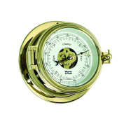 Weems and Plath Endurance II 105 Open Dial Barometer, Brass