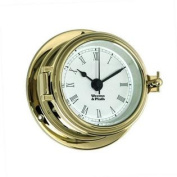 Weems and Plath Endurance II 99.4lz Clock with Roman Numerals Brass