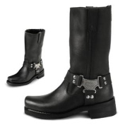 Milwaukee Motorcycle Clothing Company Classic Harness Leather Women's Motorcycle Boots