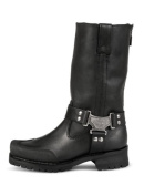 Milwaukee Motorcycle Clothing Company Men's Drag Harness Motorcycle Boots