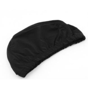 Men Women Adult Dome Shaped Elastic Swimming Pool Swim Head Hat Cap Black