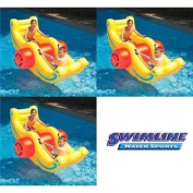 3 Swimline 9058 Inflatable Sea-Saw Rockers