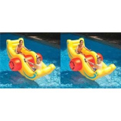 2 Swimline 9058 Inflatable Sea-Saw Rockers