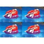 4 Swimline 9078 Inflatable UFO Squirters