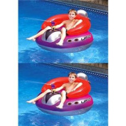 2 Swimline 9078 Inflatable UFO Squirters