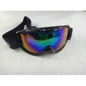 Winter Outdoor Snowboarding Ski Mirrored Double Lens Anti Fog Men Women Fashion Goggle