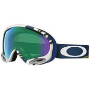 Oakley A-Frame Sunglasses, White, Jade Iridium