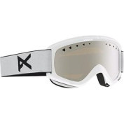 Anon Men's Helix Goggles W. Spare Lens, White/Silver Amber, One Size