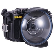 Sea and Sea MDX-a6000 Housing ML Dome Port Zoom Gear & ML Extension Ring