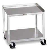(Price/Each)Generic 00-4002 Mobile Stand - Stainless Steel - 2-Shelf