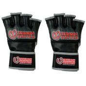 Triumph United Death Star Open Palm MMA Gloves - 2XL - Black