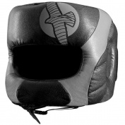 Hayabusa Tokushu Regenesis Boxing Headgear - Black/Grey