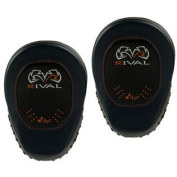 Rival Boxing d30 Intelli-Shock Pro Punch Mitts - Black/Blue