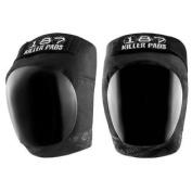 187 Killer Pro Knee Pads - Black / Black - Large