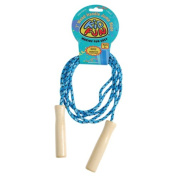 US TOY GS721 Wood Handle Jump Rope
