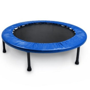 Crown Sporting Goods 100cm Mini Rebounder Trampoline with padding