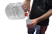 Collapsible Water Jug Folding Water Bottle Backpacking Camping Gear