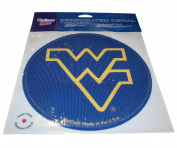 West Virginia Mountaineers WinCraft Navy Removable Adhesive Perforated Decal