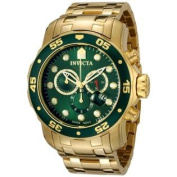Invicta Men's 0075 Pro Diver Chronograph 18k Gold-Plated Watch