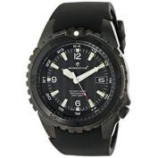 Momentum Men's 1M-DV68B4B D6 Night Vision Analogue Display Japanese Quartz Black Watch