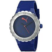 PUMA Women's PU103432003 Blast S Camo Blue Analogue Display Quartz Blue Watch