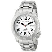 Momentum Men's 1M-DV74L0 Torpedo Analogue Display Japanese Quartz Silver Watch