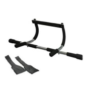 Wacces 3-in-1 Fitness Exercise Door Chin Pull Push Sit up Bar + Bonus Ab Strap