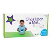Once Upon a Mat Bundle - Kids Yoga DVD, Eco-friendly Yoga Mat, & Water Bottle