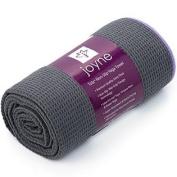 Joyne Tola™ Non Slip Yoga Towel ★ #1 Best Hot Yoga Towel For Yogis Who Sweat ★ Skidless, Anti-Slip, Wet Grip Design ★ Su