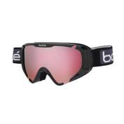 Bolle Explorer OTG Snow Goggles - Shiny Black Frame - Vermillon Lens - 21380